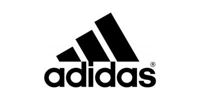 Logo adidas nero fondo bianco