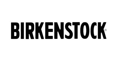 Logo Birkenstock nero fondo bianco