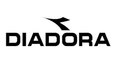 Logo diadora nero sfondo bianco