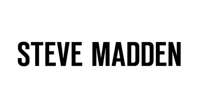 Logo steve madden nero su bianco
